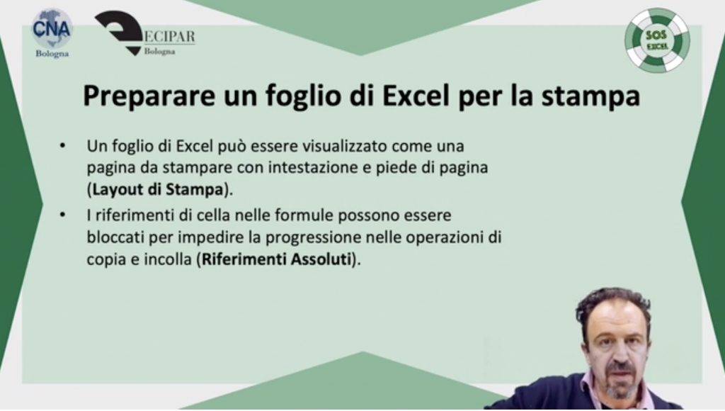 Corso Excel Online - Livello Intermedio